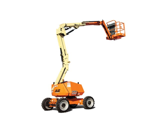 34 ft, Diesel, Dual-Fuel, Articulating Boom Lift