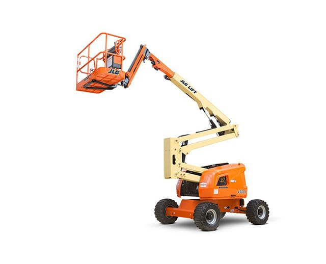 45 ft Articulating Boom Lift (Diesel, Dual Fuel)