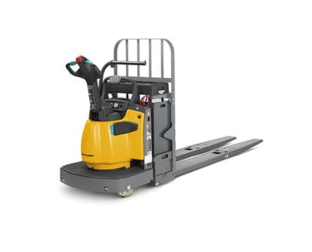 Electric pallet jack rental bigrentz for Motorized pallet jack rental