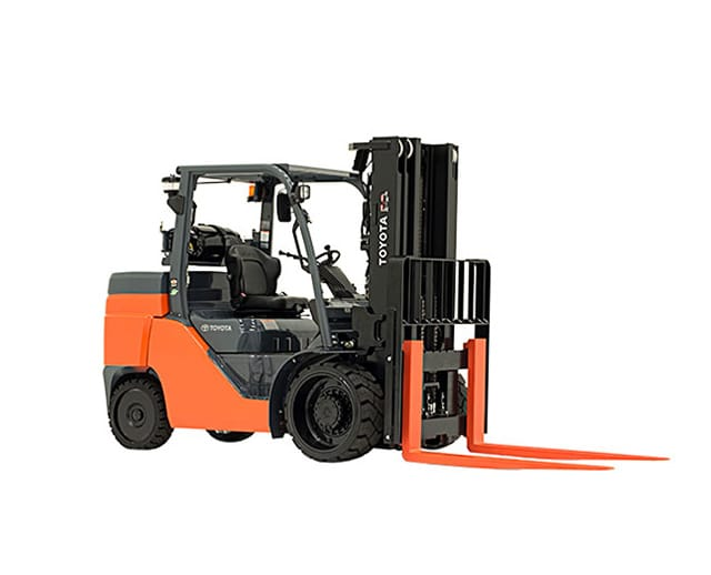15,000 lbs, Cushion Tire, Warehouse Forklift