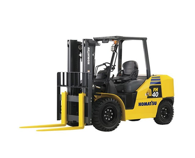 12,000 lbs, Pneumatic Tire, Warehouse Forklift
