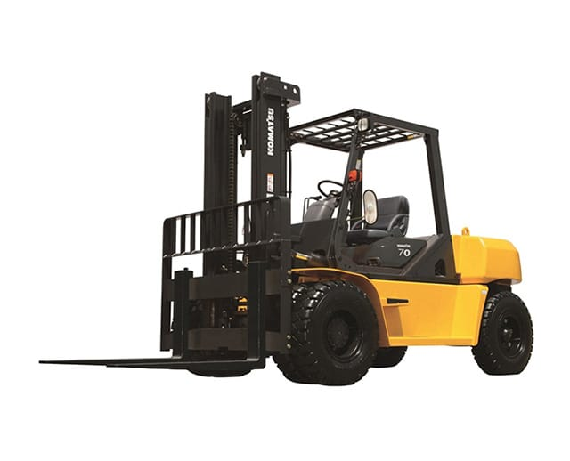 25000 lbs, Pneumatic Tire, Warehouse Forklift