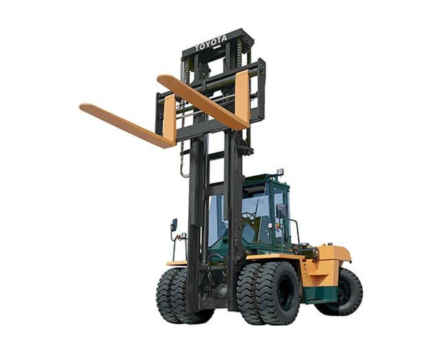 100000 lbs, Pneumatic Tire, Industrial Forklift