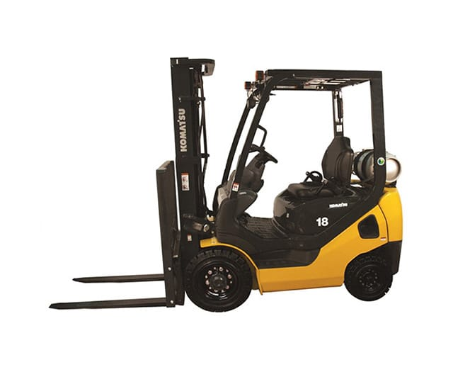 5,000 lbs, Quad Mast, Pneumatic Tire, Warehouse Forklift