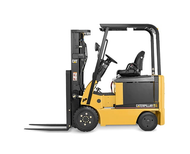 5,000 lbs, Electric, Cushion Tire, Warehouse Forklift