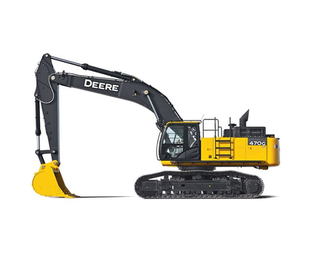 120000 - 139000 lbs, Excavator