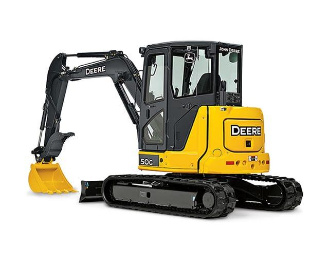 9,500 lbs, Mini Excavator