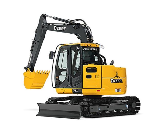 18500 lbs, Mini Excavator