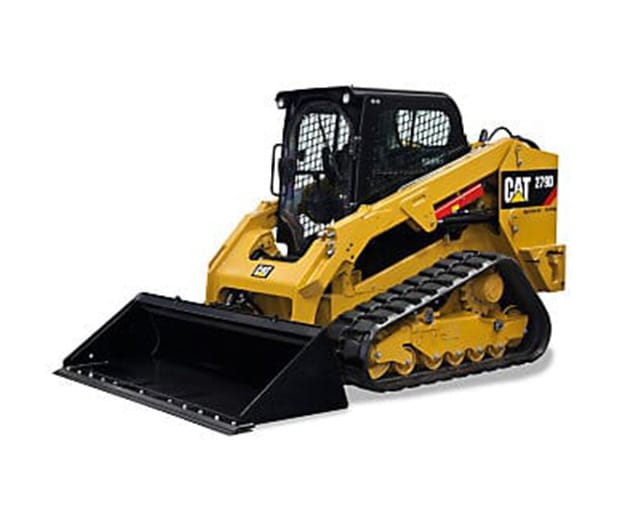 1,900 lbs, Track, Skid Steer Loader