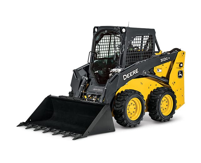1,500 lbs, Wheel, Skid Steer Loader