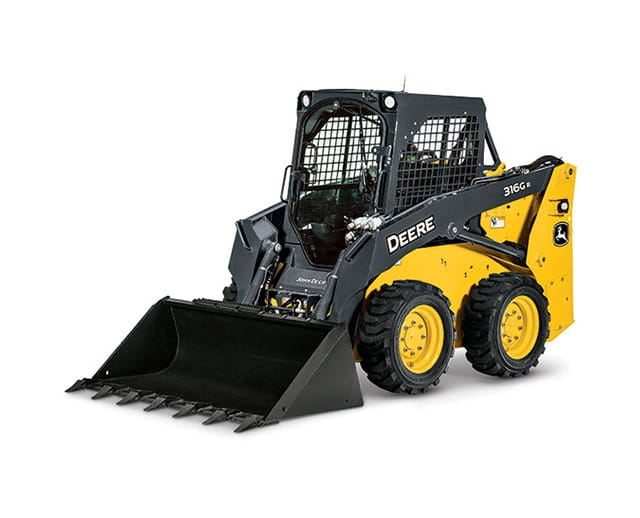 1,750 lbs, Wheel, Skid Steer Loader