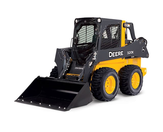 2,500 lbs, Wheel, Skid Steer Loader
