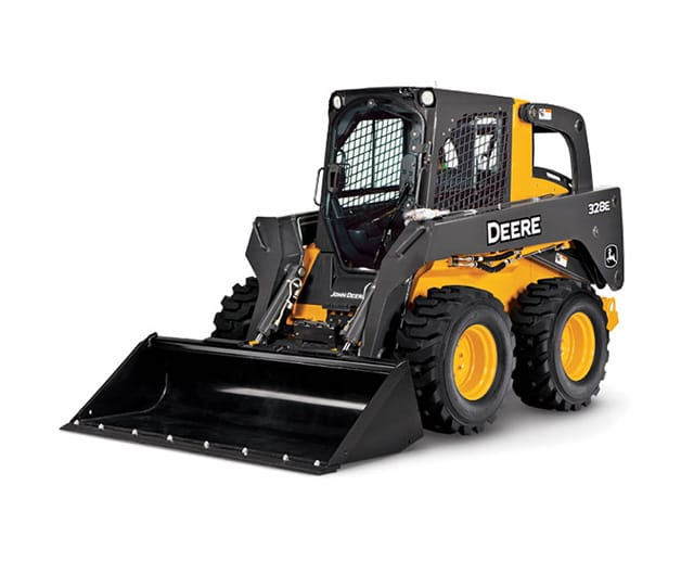 3,200 lbs, Wheel, Skid Steer Loader
