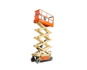 26 ft Electric Scissor Lift Narrow
