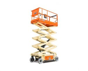 26 ft, Wide, Electric Scissor Lift