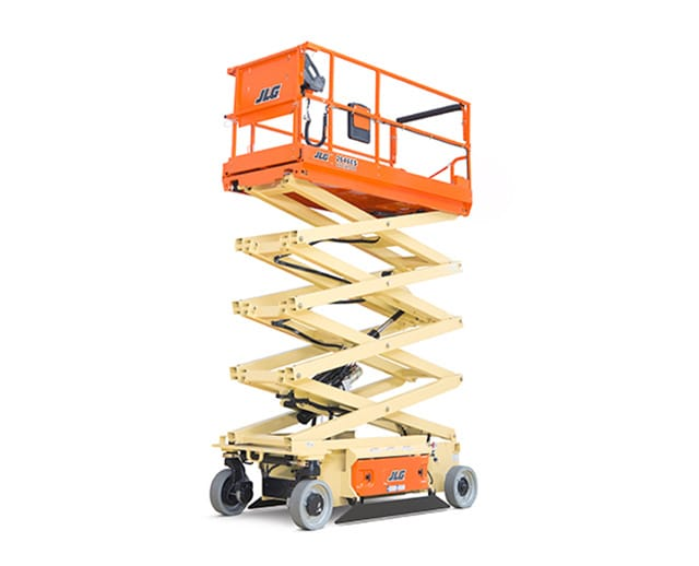 32 ft, Wide, Electric Scissor Lift