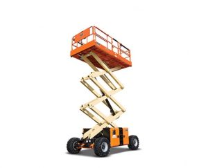 32 ft, 4WD, Scissor Lift
