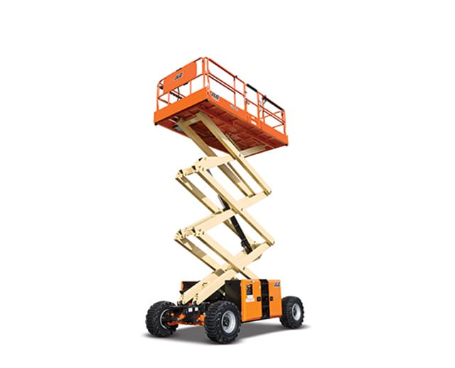 32 ft, 4WD, Rough-Terrain Scissor Lift