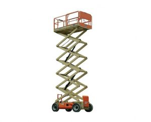 40 ft, Wide, Electric Scissor Lift