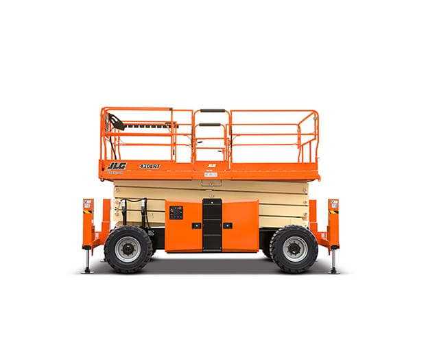 50 ft, 4WD, Rough-Terrain Scissor Lift