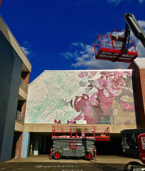 BigRentz and Construction Equipment Rentals Partner to Help Pow! Wow! Worcester Paint the Town