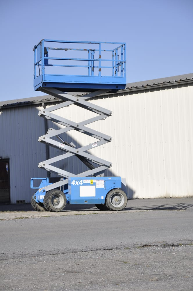 Scissor Lifts: What Counts as 'Rough Terrain'?