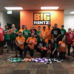 Pew Pew! BigRentz Staff Competes in Third Annual Nerf War