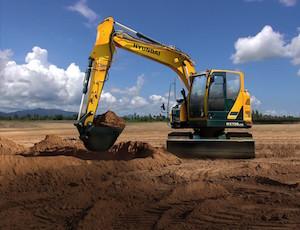 Hyundai HX130LCR Excavator