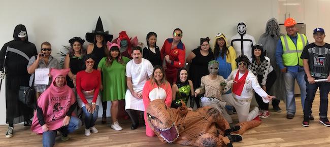 The BigRentz Team Celebrates Halloween!