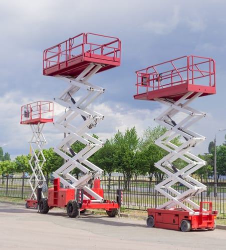 when to use a scissor lift