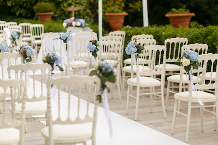 Wedding Ceremony Chair Arrangement