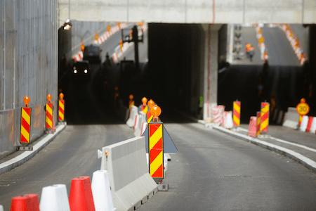 construction detour