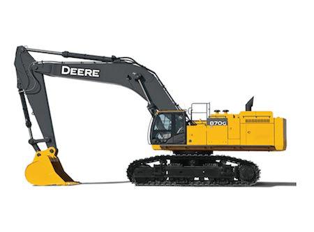 Deere 870G LC