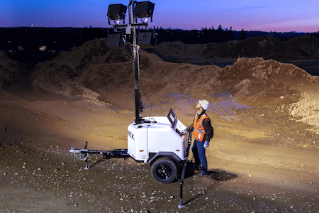 Terex RL4 Light Tower