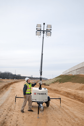Terex RL4 LED Light Tower