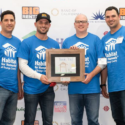 BigRentz Executives put on the Tools to Raise Money for Habitat for Humanity