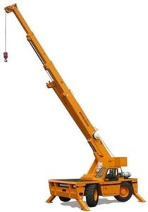 15 Ton, Carry Deck Crane