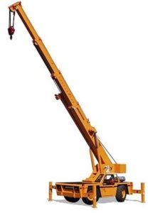 18 Ton, Carry Deck Crane