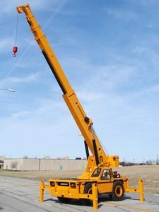 22 Ton, Carry Deck Crane