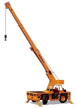 9 Ton, Carry Deck Crane