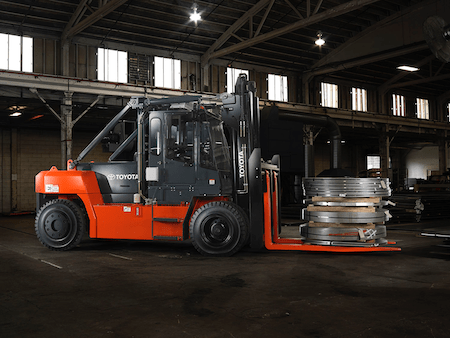 Toyota High-Capacity IC Forklift