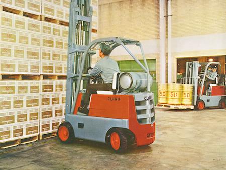 1956 Clark Forklift