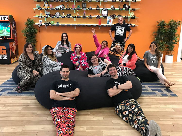 BigRentz Pajama Day