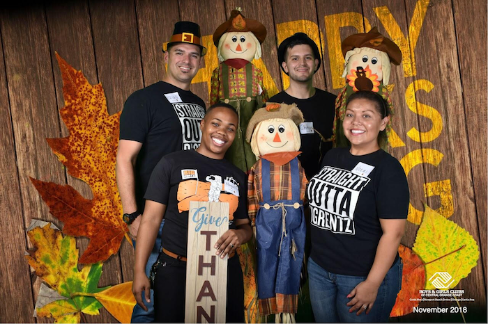 BigRentz Gives Back at Boys & Girls Club of Central Orange County's Annual Thanksgiving Dinner