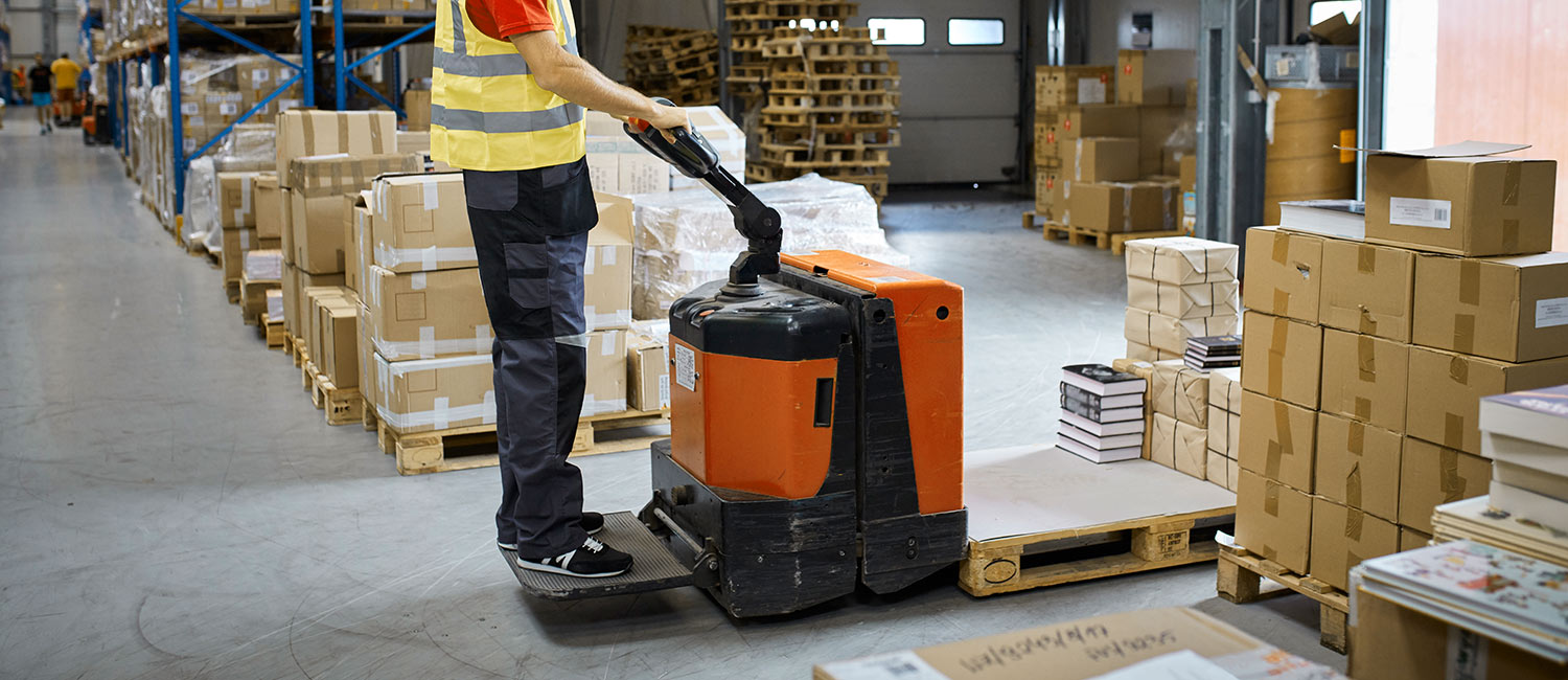 To use a pallet jack, construction workers should complete a certification course.