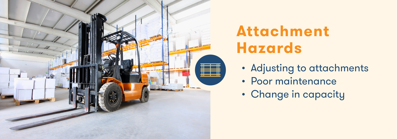 forklift hazards with attachments