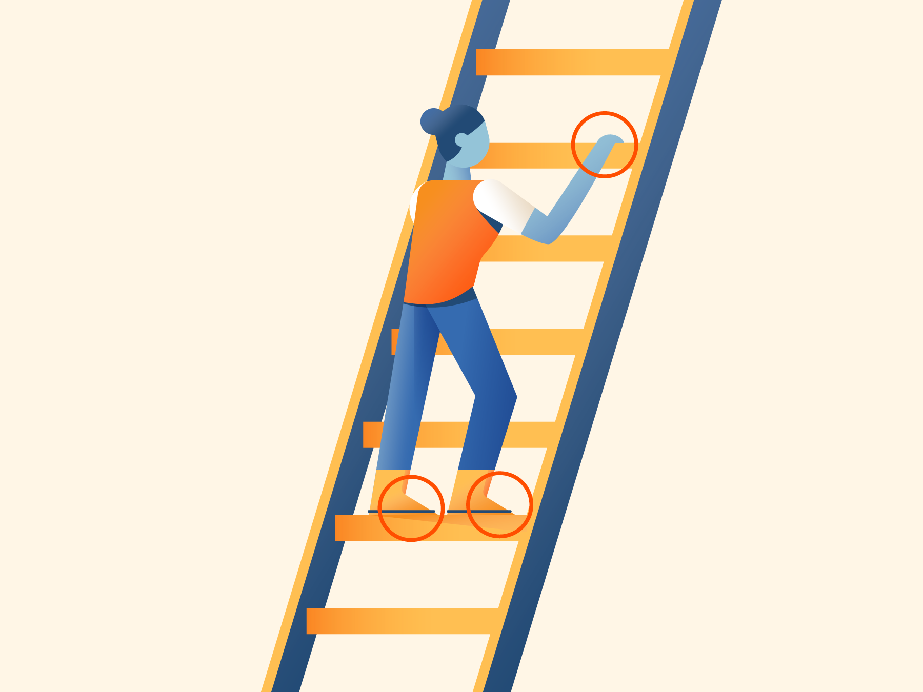Three Points of Contact: How to Prevent Falls
