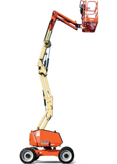 34 ft Electric Articulating Boom Lift