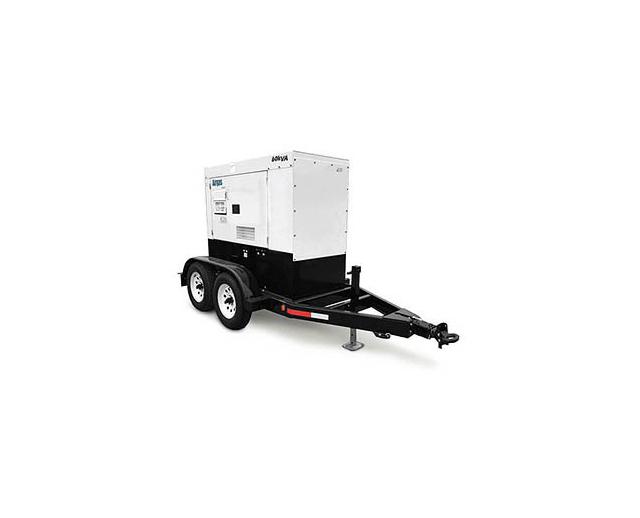 48 kW / 60 kVA Towable Diesel Generator