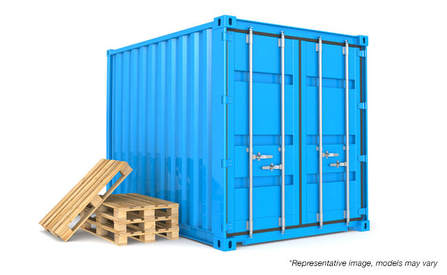 8x10 ft Mobile Storage Container